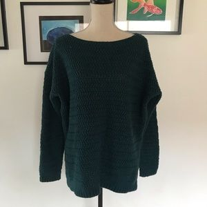 Lord and Taylor wool blend crewneck sweater size L